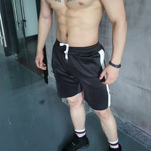 Casual Mens Plain Elastic Waist Short Pants