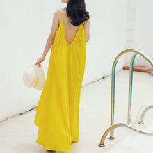 Seaside Holiday Sling Backless Sexy Beach Dress