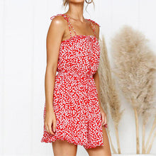 2019 Summer Fashion Printed Sexy Strapless Backless Dress