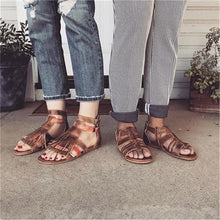 Retro Casual Open-Toed Roman Strap Sandals