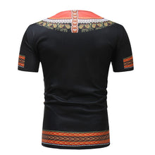 Fashion Ethnic Style Printed Short Sleeves T-Shirt