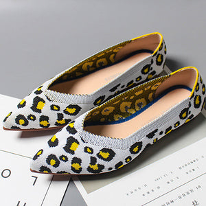 Soft Bottom Ballet Shoes, Pregnant Women, Flat Shoes, Female Pointed Shallow Mouth, Leisure Boat Shoes