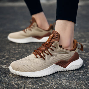 Summer Mesh Breathable Casual Shoes Personality Trend Men's Sports Shoes