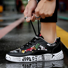 Summer Mesh Breathable Casual Shoes Personality Trend Harajuku Style Men's Shoes