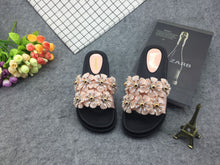 Thick Bottom Slippers Female Sandals Non-Slip Beach Shoes