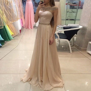 Fashion Sexy Round Neck   Sleeveless Waist Dress