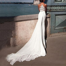 Fashion Sexy Lace Perspective   Wedding Dress