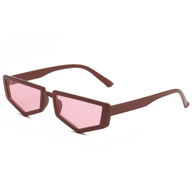 Trendy   Sunglasses Small Frame Square Versatile Sunglasses