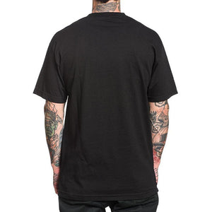 Men's Black Round Neck Street Style Shirt