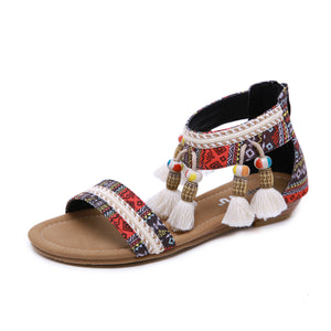 Vacation Bohemian Large Size Comfort Sandals