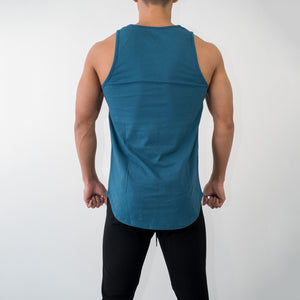 Muscle Fitness Summer Men's Sports Casual Cotton Stretch Sleeveless Vest