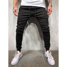 Casual Sports Beamed Jeans