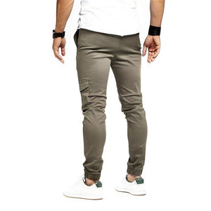 2019 Men's Tethered Casual Sports Slim-Fit Pants