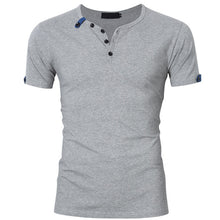 Simple Men's Short-Sleeved T-Shirt