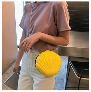 Fashion Color Candy Chain Messenger Pouch