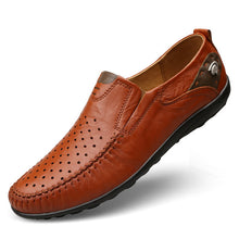 Men's Leather Four Seasons Set Of Feet Shoes