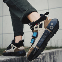 Retro Fashion Personality Color Matching Sneakers