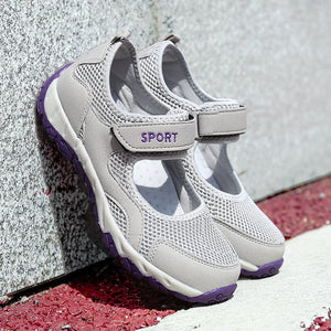 Summer Breathable Mesh Walking Shoes