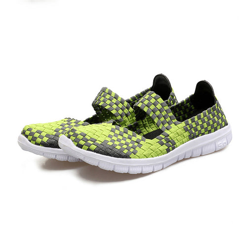 Fashion Casual Hand-Woven Large Size Women's Shoes