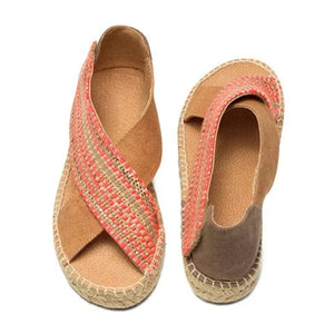National Style Flat And Comfortable Wild Fashion Sandals