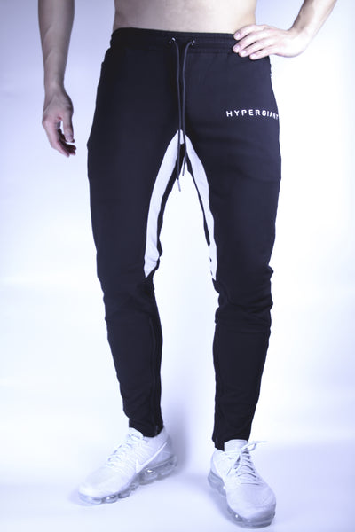 "HYPERGIANT ""HyperReflective"" Embroidered Logo Tapered Joggers"