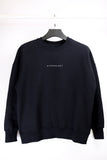 "HYPERGIANT ""HYPER"" Oversized Drop Shoulder Jumper - BLACK"