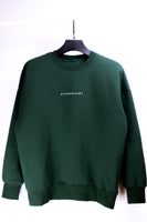 "HYPERGIANT ""HYPER"" Oversized Drop Shoulder Jumper - GREEN"