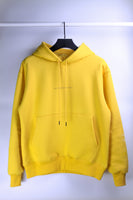 "HYPERGIANT ""HYPER"" Oversized Drop Shoulder Hoodie - YELLOW - SPECIAL EDITION"