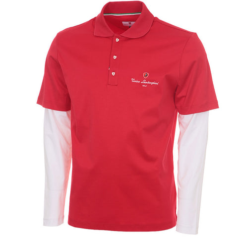 Jersey bi-colour polo W/long Sleeves - TL51MLS