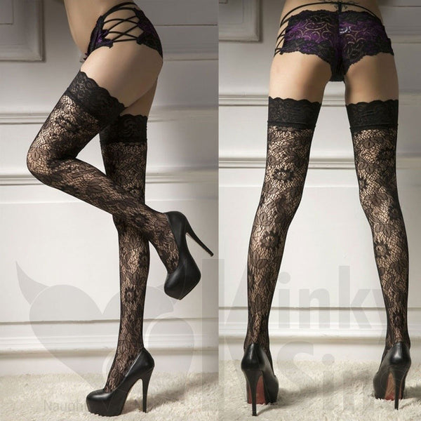 Detailed Lovely Lace Stunning Stockings