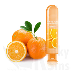 Fun & Edible Flavored Lubricants - Orange