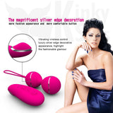 Seventh Heaven Remote Control Vibrating Jiggle, Kegel Balls