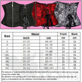 Sexy Zipped, Absolute Under-Bust Corset Plus Size Collection - With a FREE G-String