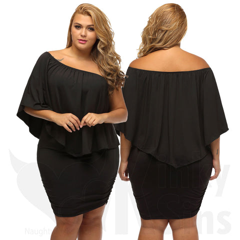 Versatile Multi-Way Dress - Plus Size