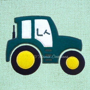 Applique Tractor 5x7 6x10