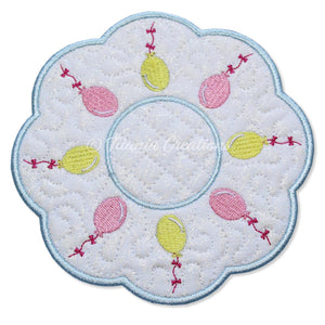 ITH Balloons Candle Mat 5x5 6x6 7x7 8x8