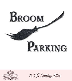 Broom Parking Svg Vinyl