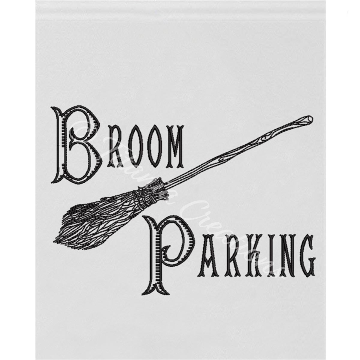 Broom Parking 5x7 6x10 8x12