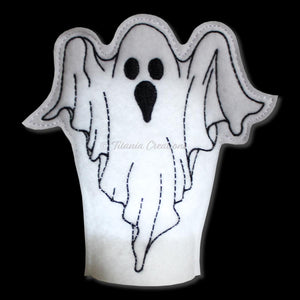 ITH Ghost Tea Light Cover 4x4
