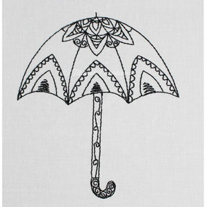 Molly Doodles Umbrella 4x4 5x7