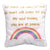 ITH My Mind Rainbow Pillow 4x4
