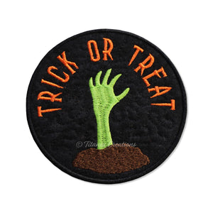 ITH Trick or Treat Zombie Coaster 4x4