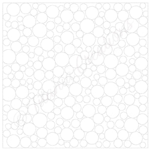 Bubble Quilt Blocks 9 Sizes Included