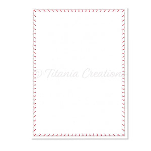 ITH Blanket Stitch Flat Rectangle 5x7