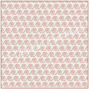 Swirl Quilt Blocks 9 Sizes Included