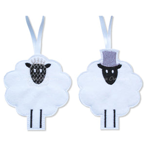 ITH Bride and Groom Sheep 4x4