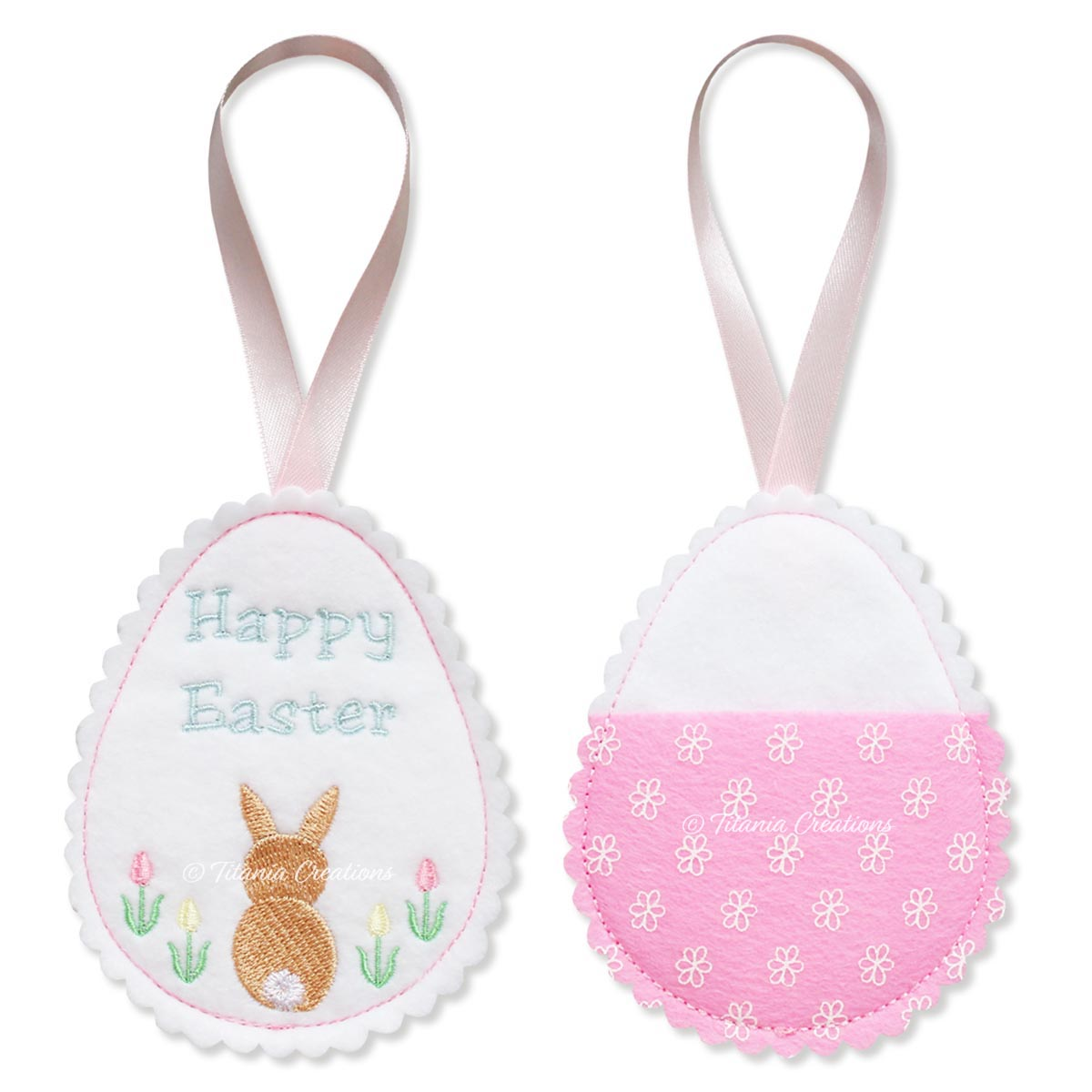 ITH Bunny Easter Egg Treat Holder 4x4 5x7