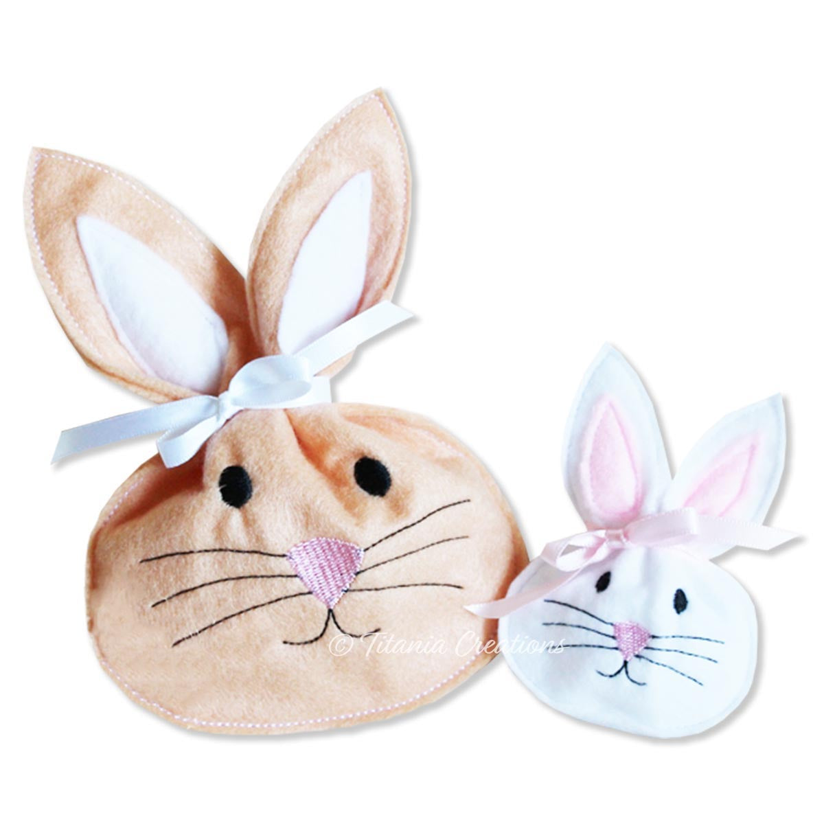 ITH Bunny Treat Bag 4x4 5x7
