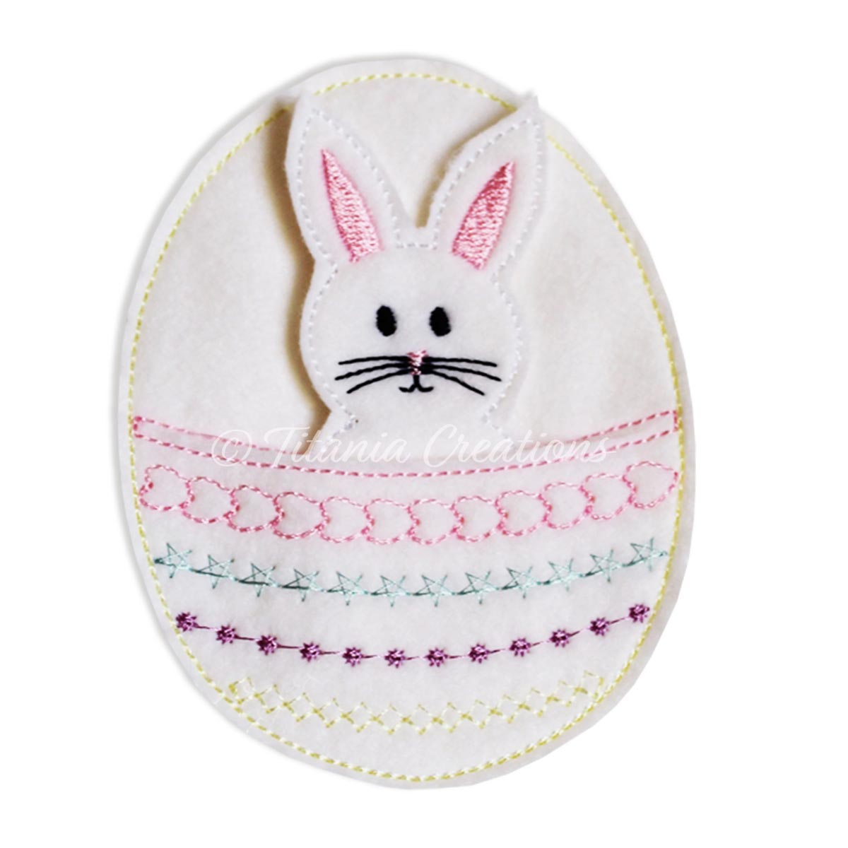 ITH Easter Egg Bunny Treat Bag 4x4