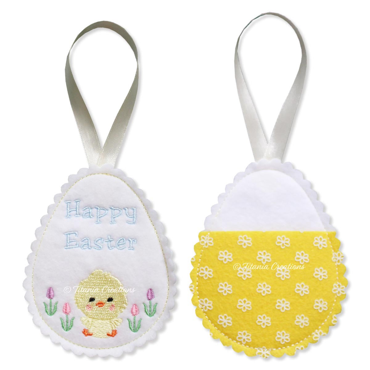ITH Chick Easter Egg Treat Holder 4x4 5x7
